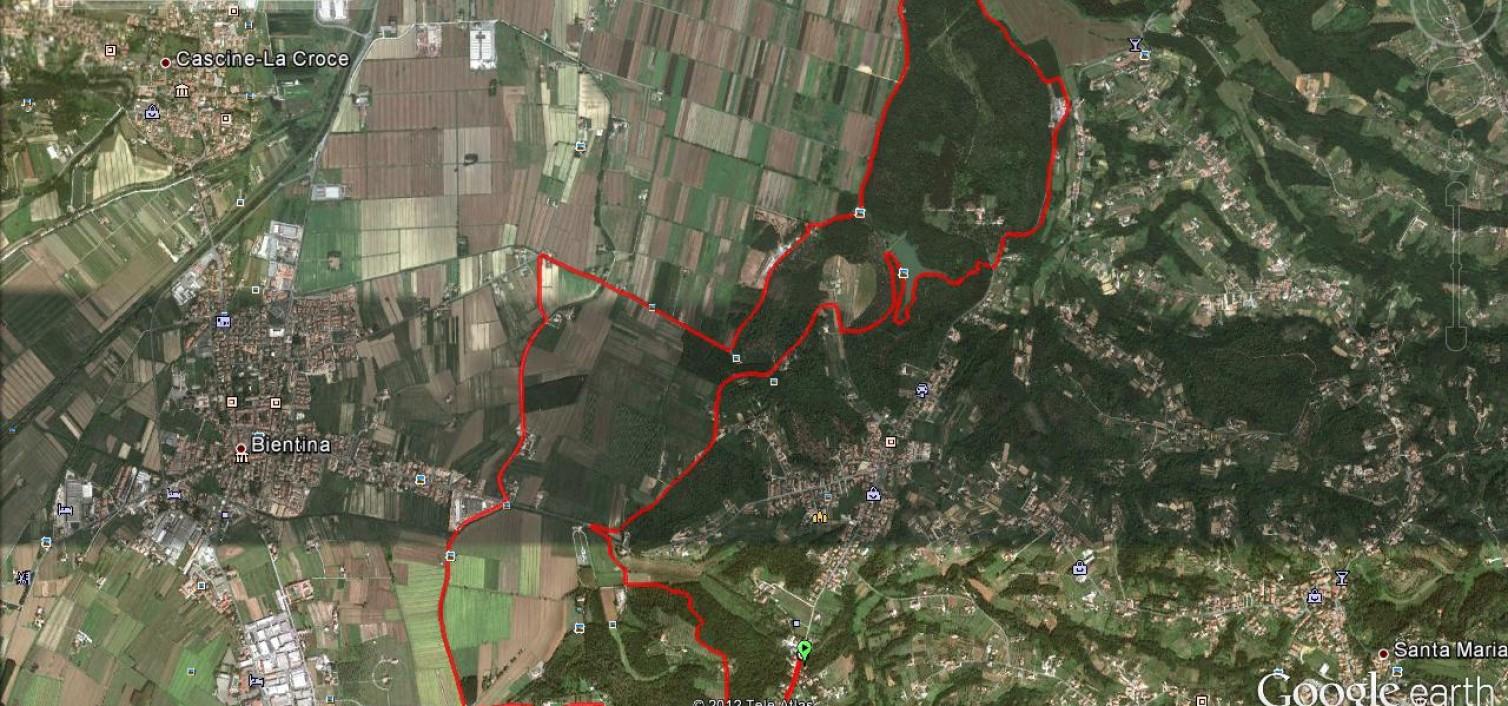 Percorso Trofeo Madonnina del bosco 2012